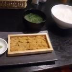 板ウニ定食